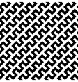 Black zigzag lines in diagonal arrangement vector image