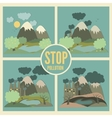 Ecology Concept Icons Set for Environment vector image vector image