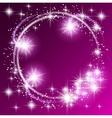 Glowing purple background vector image vector image