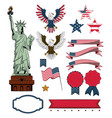 independence day collection vector image