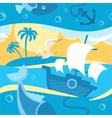 Magic fishing vector image vector image