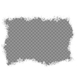 Snowflakes border EPS 10 vector image vector image
