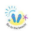 summer signs and banners vector image vector image