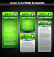 web display banner vector image vector image