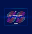 abstract colorful line futuristic design vector image vector image