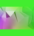 art of faceted 3d crystal colorful shapes vector image vector image
