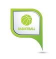 basketball GREENpointer vector image vector image