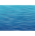blue water surface background vector image