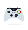 console for video games flat isolated vector image vector image