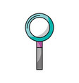 dentistry mirror isolated icon vector image vector image