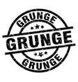 grunge round grunge black stamp vector image vector image