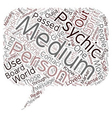 Mediums text background wordcloud concept vector image vector image