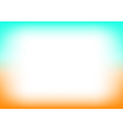Orange Blue Copyspace Background vector image vector image
