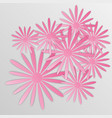 paper flower origami32 vector image vector image