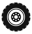 repairing tire icon simple style vector image
