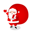 Santa Clause and his sack vector image vector image