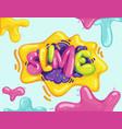 slime vector image