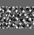 triangle background - gray vector image