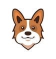 Welsh Corgi Pembroke Cartoon Style vector image vector image