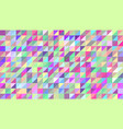 abstract background of colored triangles the vector image