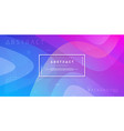abstract dynamic trendy gradient background vector image vector image