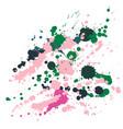 pinkgreen vector image vector image