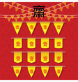 Vegetarian Festival of Chinese Buddhism vector image vector image