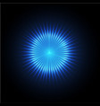 Abstract spark circle flare light vector image