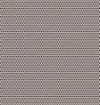 Black small and big circles pattern vector image vector image