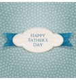 happy fathers day special striped badge vector image vector image
