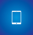 multimedia mobile phone tablet vector image vector image