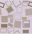seamless abstract conceptual geometric square vector image vector image