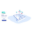 security system smart home smart home vector image