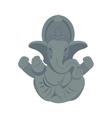 India elephant budda vector image