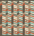 architectural seamless pattern vector image vector image