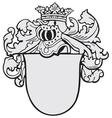 aristocratic emblem no7 vector image vector image