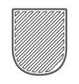 badge in monochrome dotted contour and striped vector image vector image
