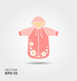 clothes for a newborn vector image vector image