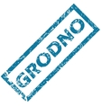 Grodno rubber stamp vector image vector image