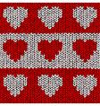 Heart Jumper vector image