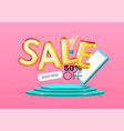 online shopping 3d gold sale label with phone
