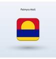 Palmyra Atoll flag icon vector image vector image