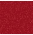 Romantic christmas seamless background vector image