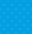 stump pattern seamless blue vector image vector image