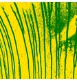 Texture yellow wall with green streaks stains vector image