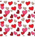 Valentines Day Hearts Love seamless pattern vector image vector image