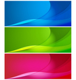 abstract color backgrounds vector image