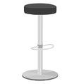 Bar stool vector image vector image