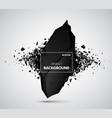 Explosive black stone