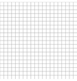 Five millimeters square grid on white seamless vector image vector image